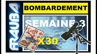 EVENT BOMBARDEMENT Et LES 30 POSTERS - Divers Scenarios - SAISON 5 Semaine 3 - LAST DAY ON EARTH