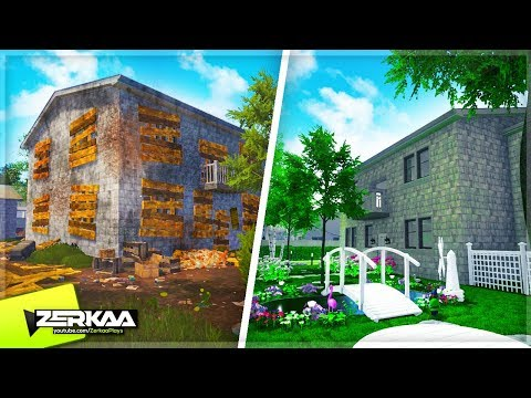 Transforming The Front Garden In My New House! (House Flipper Garden Flipper DLC #3)