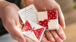 How To Make A Pocket Prayer Quilt   A Shabby Fabrics Tutorial