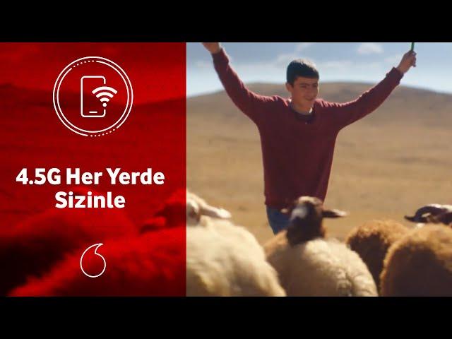 Vodafone Supernet 4.5G ihtiyacınız olduğu yerde sizinle!
