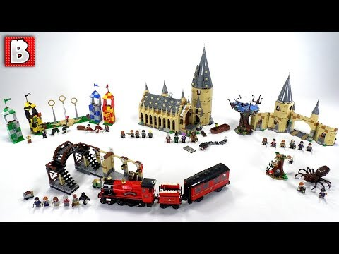 ALL LEGO Harry Potter Sets!!! 2018 Wave Review