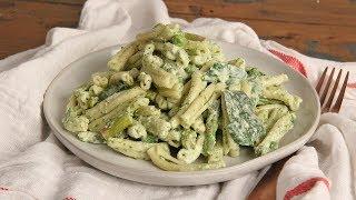 Pasta Salad with Green Goddess Dressing   Ep 1282