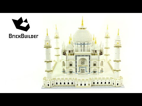 Vidéo LEGO Creator 10189 : Taj Mahal