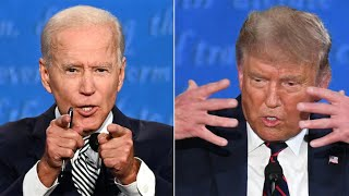video: US election debate: Donald Trump and Joe Biden clash in bad-tempered and angry showdown