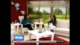 """Songül Öztürkcan - Bireysel Gelişim Uzmanı 14.01.2013 Kanal B """" Biz Bize """" Programı"""