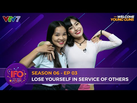 IFOSS6E03 | LOSE YOURSELF IN SERVICE OF OTHERS - NGUYỄN LÂM THẢO TÂM LẦN ĐẦU LÀM HOST