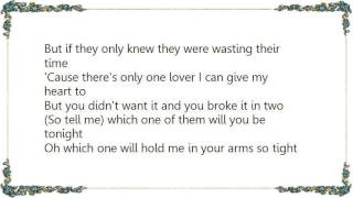 Garth Brooks - Which One of Them Lyrics