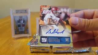 2016 Panini Prestige Football Hobby Box. 4 Autos per Box