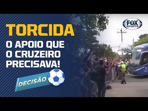 O APOIO INCONDICIONAL QUE O CRUZEIRO PRECISAVA! Veja chegada da Raposa no Mineirão