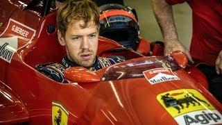 Sebastian Vettel And Gerhard Berger At Red Bull Ring 2014