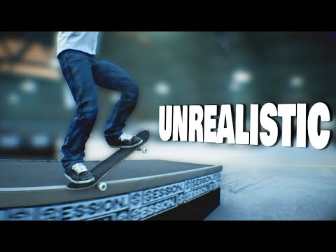 SESSION: Doing UNREALISTIC Tricks (And a Wallride?)