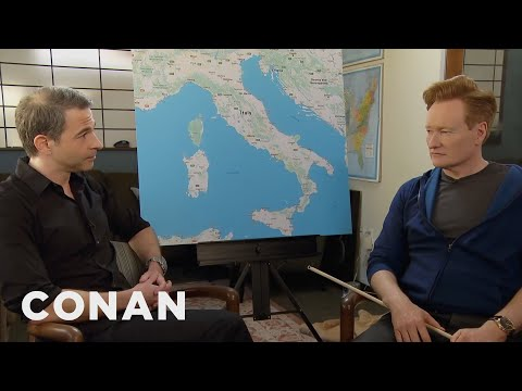 Conan v Itálii #1: Plánování