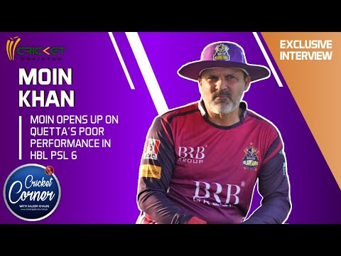 Moin Khan opens up on Quetta's poor performance in HBL PSL 6