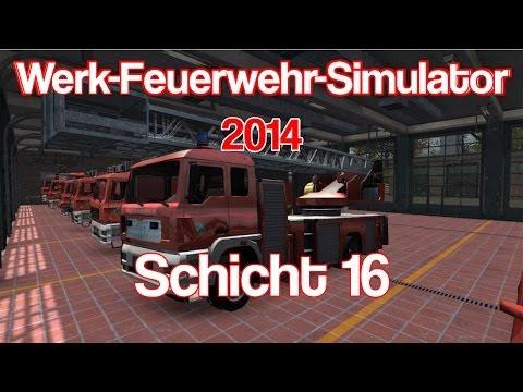 Werk-Feuerwehr-Simulator 2014 | Florian 8 | Schicht 16 | Endlich wieder Feuer