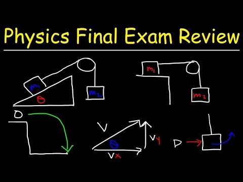 Physics 1 Final Exam Review - YouTube