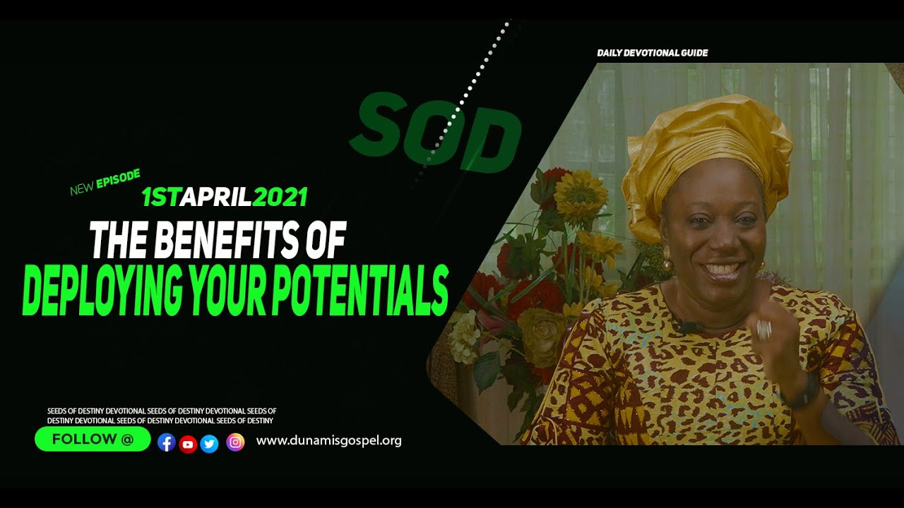 Dunamis Seeds of DESTINY 1st April 2021 Thursday Summary by Dr Becky Paul-Enenche