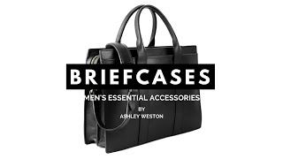 The Best Briefcases & Messenger Bags - Mens Essential Accessories - Leather, Canvas, Shoulder