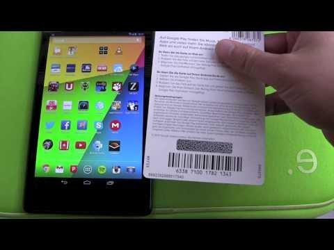 Google Play Store Guthaben Karte in der App einlösen