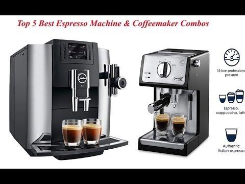 Top 5 Best Espresso Machine & Coffeemaker Combos