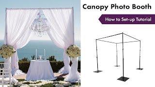 Canopy Photo Booth Tutorial | How To Setup | EFavormart.com