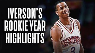 NBA Vault: Allen Iverson Rookie Year Highlights