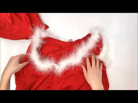 Vánoční kostým Santa lady skirty set - Obsessive