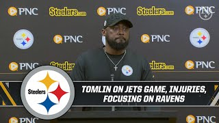 Coach Tomlin is singularly focused on game versus Ravens | Press Conference