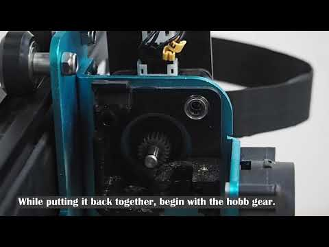 Extruder Disassemblement
