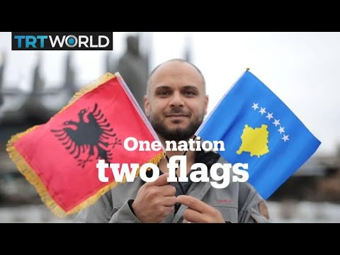 Do you know why Kosovo has '2 flags'?