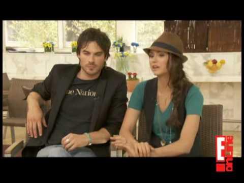 Nina Dobrev and Ian Somerhalder Talk To E!Online About 'The Vampire Diaries' Season Finale