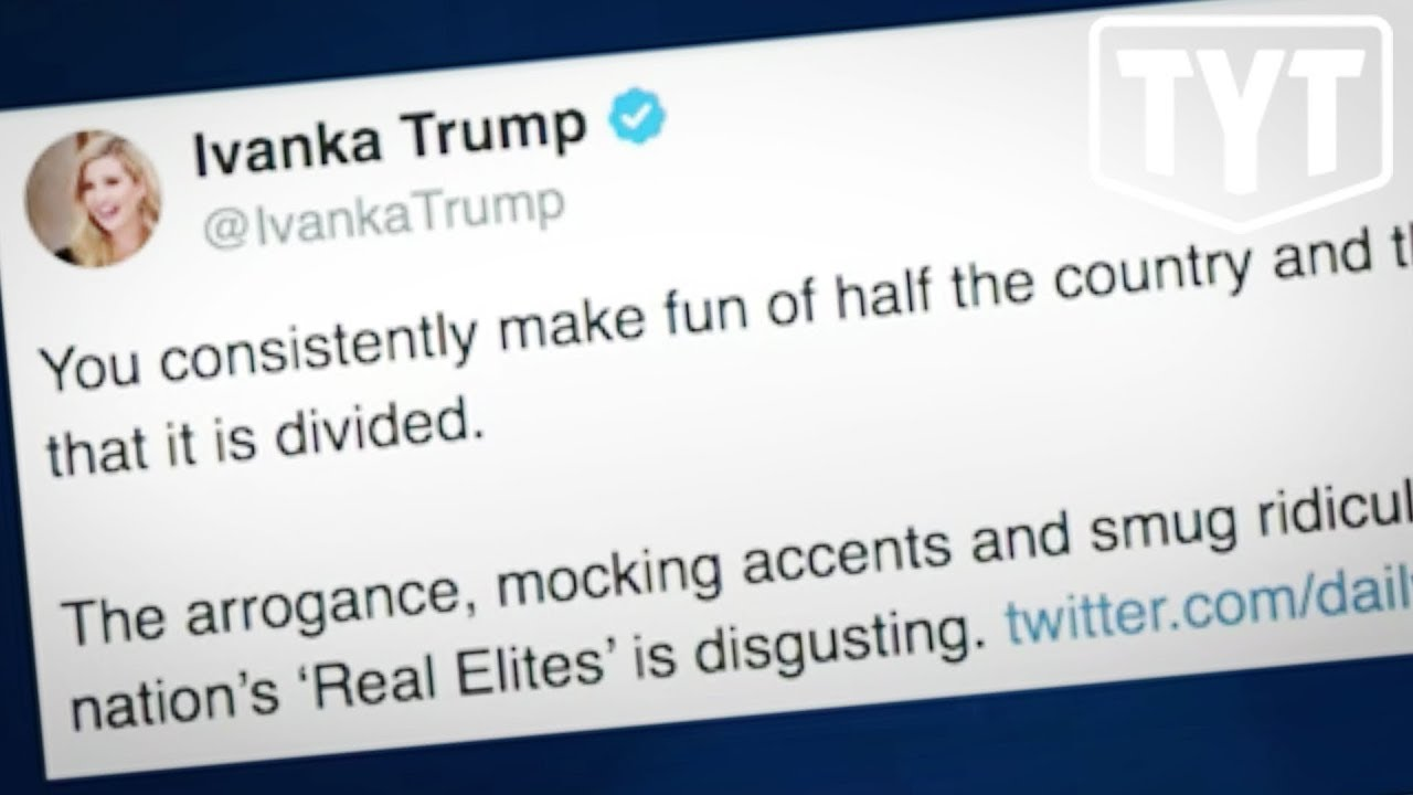 Ivanka EXPLODES on Twitter After CNN Mocks Trump and Supporters thumbnail