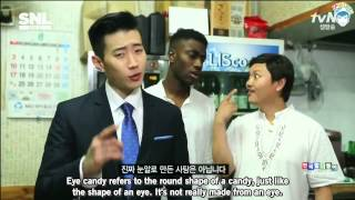 [ENG] 140830 SNL Korea S05E22 - Korean Language Outing (Jay Park Cut)