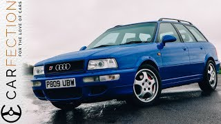 Audi RS2: History Of The Audi RS Wagons PART 1/6 - Carfection