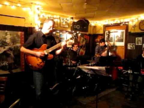 The Water - Melissa Stylianou group live at 55 Bar September 21, 2011