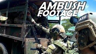 Intense Ambush Footage in Philippines | Helmet Cam