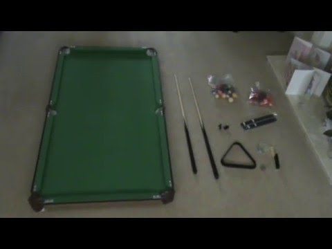 Debut - Snooker/Pool table - Review/set-up guide