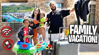 WE HAD TO LEAVE OUR HOME BECAUSE..(FAMILY GETAWAY)
