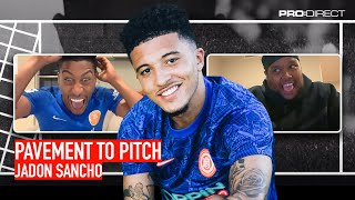 CHUNKZ & YUNG FILLY ft. JADON SANCHO | PAVEMENT TO PITCH