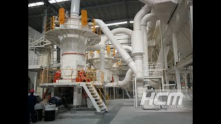 Limestone Powder Plant, HLMX1700 mill 400mesh D97, 25TPH