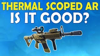 THERMAL SCOPED AR IS IT GOOD?   HIGH KILL FUNNY TROLL GAME - (Fortnite Battle Royale)