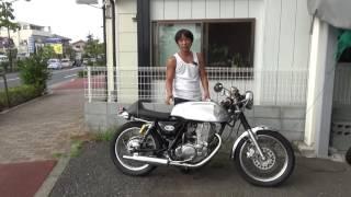 SR400-3型ノートンマンクススタイルカフェ参考動画