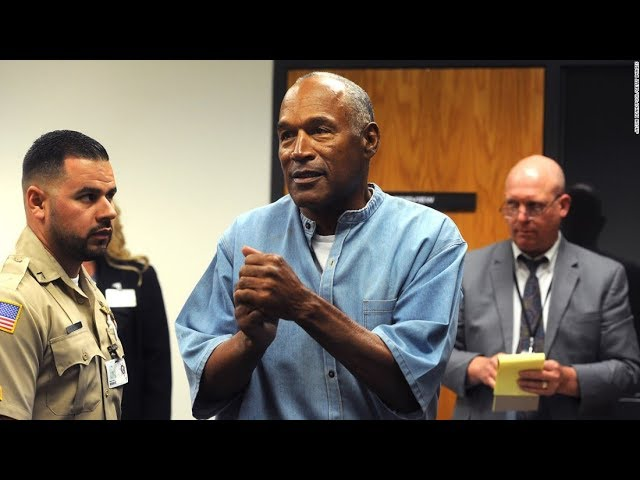 O.J. Simpson walks out of Nevada prison after 9 years