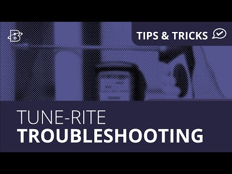 Tune-Rite | Troubleshooting