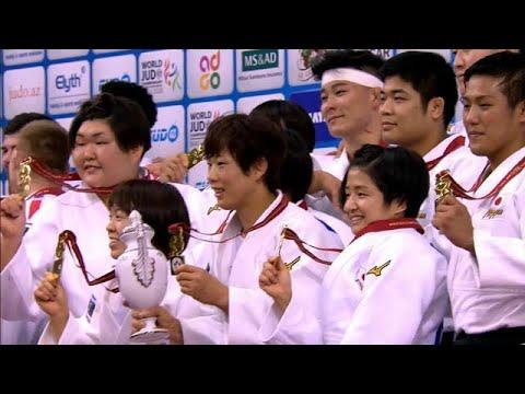 العرب اليوم - شاهد: اليابان تحتلّ صدارة الترتيب في بطولة العالم بباكو