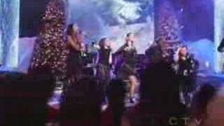 Clay Aiken - Christmas Medley (with Kimberley, Ruben etc)