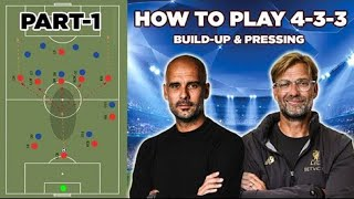 How to Play the 4-3-3 Formation   Build-up & Pressing in 4-3-3   Part-1   Coach Nouman