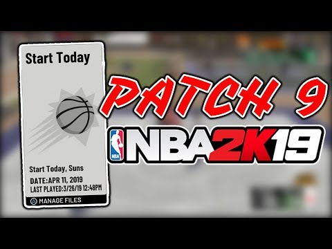 PATCH 9 Did Something 2K Has NEVER Done Before NBA 2K19