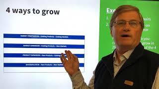 4 WAYS TO GROW to grow your business.