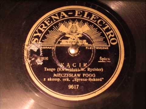 Kącik (tango) - Mieczysław Fogg