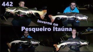 Frio congelante no Pesqueiro Itaúna - Fishingtur na TV 442
